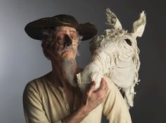 Peter Anderson as Don Quixote. Arts Club Theatre Company. Photo by David Cooper.