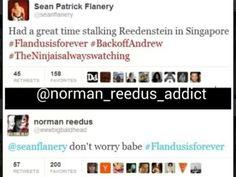 Sean Patrick Flanery and Norman Reedus on Twitter - Bromance #flandusisforever