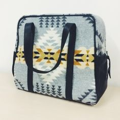 I'm making myself a Weekender Bag! So pumped. Using Pendleton wool and gifted leather. I'll blog details soonish!!