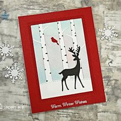Sunny Studio Stamps: Rustic Winter Dies Customer Card by Lindsey M-P Christmas Cards 2018, Christmas Themes, Christmas Holidays, Sunnies Studios, Poinsettia, Warm And Cozy, Sisters, Cold, Rustic