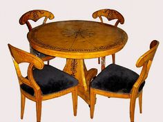 Eye For Design Biedermeier Furniture Beautiful Blonde Wood