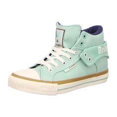 NEU: British Knights Sneaker Roco - B35-3731-22 - mint/navy -