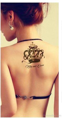 Fantatsic-Crown-Tattoo-On-Back-TB1093.jpg (538×1024)
