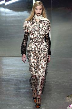 #Rodarte   #fashion   #Koshchenets       Rodarte Fall 2016 Ready-to-Wear Collection Photos - Vogue