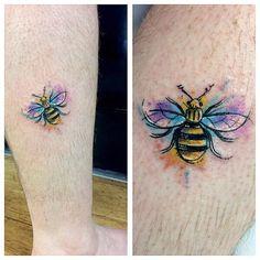 Dragon Tattoo Back Piece, Dragon Sleeve Tattoos, Chris Garver Tattoo, Bumble Bee Tattoo, Knuckle Tattoos, Japanese Dragon Tattoos, Ankle Tattoo, Chest Tattoo, Future Tattoos