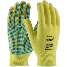 PIP Work Gloves on sale at Full Source! Order the PIP Kut-Gard Seamless Knit Kevlar Gloves with PVC Dot Grip - Light Weight online or call Best Work Gloves, Kevlar Gloves, Protective Gloves, Automotive Industry, Metal Stamping, Dots, Knitting, Glass, Style