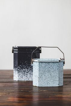 Vintage worker lunch box - NOMAD ATELIER