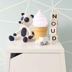 Lampe glace - ice cream lamp