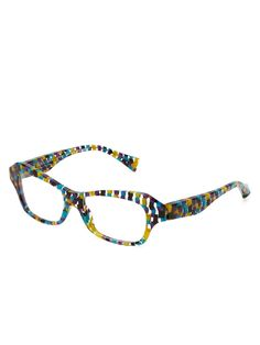 Checked Cat Eye Optical Frame Optical Frames 22f0553a07