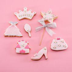 """Pack """"Princesitas"""" Galletas decoradas"""