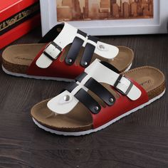 12 44  2016 new leisure Cork unix summer shoes fashion Beach flip flops cork slippers comfortable flats zapatillas de corcho-in Women's Sandals from Shoes on Aliexpress.com | Alibaba Group