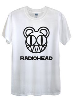 Radiohead T-Shirts available in different colours, styles and sizes.