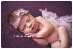 Newborn Baby Photographer ~ Baby Elise » Elaine Melinda Studio