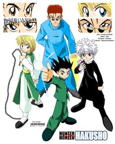 HunterxHunter Hakusho by NeoSlashott on @DeviantArt