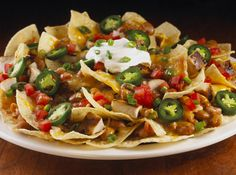 Hard Rock Cafe Grilled Chicken Nachos. Spicy! #hardrock