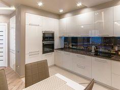 Kitchen Room Design, Luxury Kitchen Design, Kitchen Cabinet Design, Home Decor Kitchen, Interior Design Kitchen, Home Kitchens, Modern Kitchen Cabinets, Minimalist Kitchen, Küchen Design