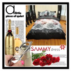 """Sammydress 16"" by danijela-3 ❤ liked on Polyvore featuring interior, interiors, interior design, home, home decor, interior decorating, MoÃ«t & Chandon and sammydress"