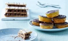 jaffa cakes and millefueille