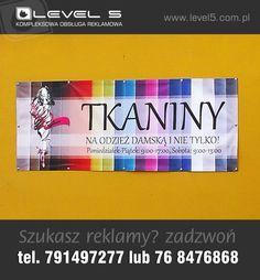 Banery reklamowe z dowolnym nadrukiem w jakości fotograficznej. Zapraszamy do współpracy. Telefon 791 49 72 77, strona www.reklamalubin.pl