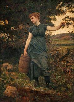 Robert Cree Crawford: The Water Stoup (1882) - Robert Walker MacBeth