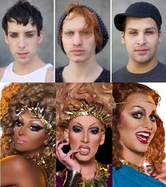 RUPAUL'S DRAG RACE Every year, it's so weird to see all the queens out of drag for the first time.