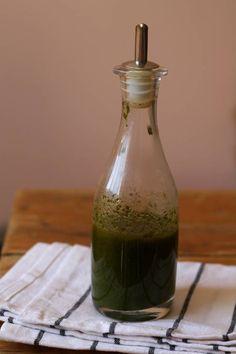 vinagreta albahaca Link muchas recetas en español