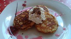 Jablkové lievance - šup-šup Pancakes, Baking, Breakfast, Food, Flowers, Morning Coffee, Bakken, Essen, Pancake