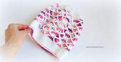 Návody háčkování Krampolinka · Návody a videa na háčkování Baby Sweaters, Crochet Baby, Beanie, Hats, Fashion, Moda, Hat, Fashion Styles, Beanies