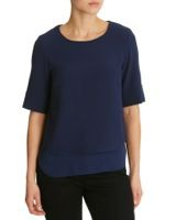 navyDouble Layer Shell Top