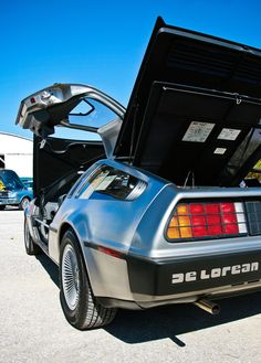 De Lorean i want one just like back to the future.  My new life goal.