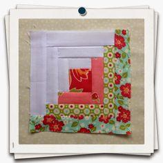 Threadbare Creations: Chatelaine Free BOW Sampler Quilt- Block 24