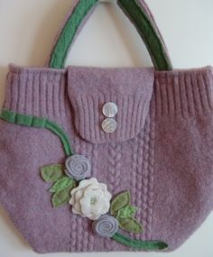 sweater to purse