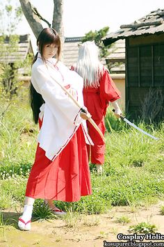 inuyasha cosplay.. Oh my god. My future boyfriend better be scared for what's in for him !!!!