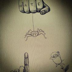 Love or hate, work in progress. #art #arte #dibujo #loveorhate