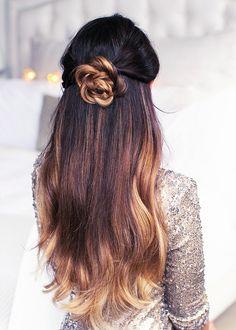 8 Pretty, Twisted Hairstyles for Party Season via @ByrdieBeautyUK