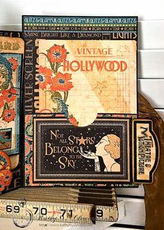 Graphic 45 Steampunk Halloween Book Monika Thomas Complete Kit Mixed Media Art