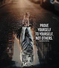 Prove Yourself to Yourself, not Others - Motivation - Mindset Inspirational Quotes About Success, Motivational Quotes For Life, True Quotes, Success Quotes, Positive Quotes, Qoutes, Hustle Quotes, Motivational Images, Best Quotes