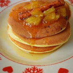 pancakes cu portocale Lucky Cake, Pancakes, Nutella, Bacon, Cooking Recipes, Breakfast, Food, Syrup, Crepes