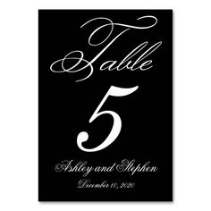 Shop Elegant Monogram Wedding Table Number Cards created by monogramgallery. Card Table Wedding, Wedding Reception Tables, Wedding Table Numbers, Wedding Cards, Personal Cards Design, Table Names, Monogram Wedding, Name Cards, Card Sizes