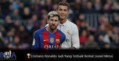 Cristiano Ronaldo menjadi sosok pemain terbaik dunia berkat kehadiran sosok Lionel Messi