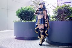 Ashe the Frost Archer (League of Legends) Cosplay by Riki LeCotey (Riddle)
