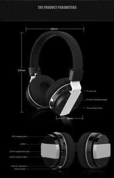 Original Zealot B17 Headband Wireless Stereo Bluetooth Headset Mini Headphone Handsfree Hifi Mic For iPhone Samsung Smartphones | #HeadphoneSamsung