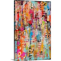 New 'Metromix XXVII by Erin Ashley Graphic Art Print by Great Big Canvas Home Decor Furniture. offers on top store Abstract Canvas, Abstract Print, Canvas Art, Big Canvas, Canvas Size, Painting Canvas, Art Du Collage, Art Diy, Art Graphique
