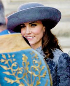 """""""  Catherine, Duchess of Cambridge leaves after the annual Commonwealth Day service on Commonwealth Day on March 14, 2016 in Westminster Abbey, London. """""""