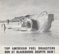 Vintage Drag Racing - 1965 in the rain! The first time I saw real drag racers, spoilt by the weather though.