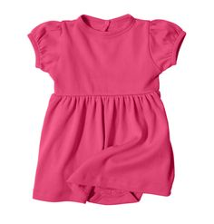 Baby Dress in Raspberry | Primary.com