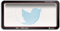 New Official Vector Twitter Logo (download)    Over the past six years, the world has become familiar with a little blue bird. The bird is everywhere, constantly associated with Twitter the service, and Twitter the company.    Starting today you'll begin to notice a simplified Twitter bird. From now on, this bird will be the universally recognizable symbol of Twitter.