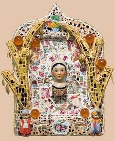 rebecca devere mosaic shrine, via something More