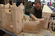 the elves and the wood botherer: In the Workshop - How amazing is this castle?!