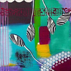 Acrylbild 'Phanta 02' - Angelika Rump